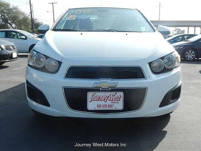 Chevrolet Sonic 2013 $4998.00 incacar.com