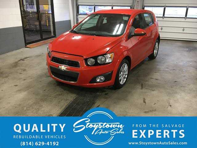 Chevrolet Sonic 2013 $2995.00 incacar.com