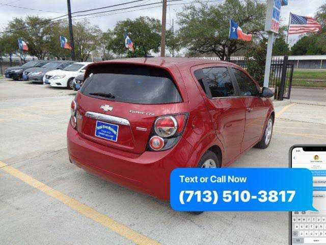 Chevrolet Sonic 2013 $4500.00 incacar.com