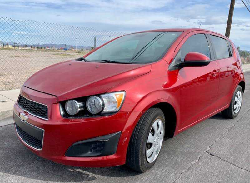 Chevrolet Sonic 2013 $4295.00 incacar.com