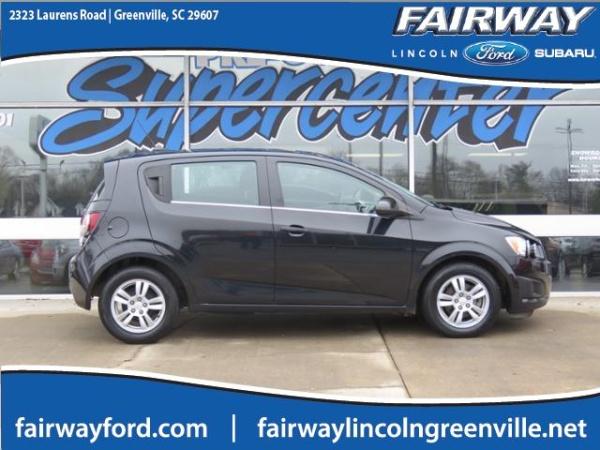 Chevrolet Sonic 2014 $6563.00 incacar.com