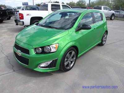 Chevrolet Sonic 2014 $16995.00 incacar.com