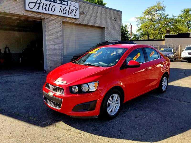 Chevrolet Sonic 2014 $5495.00 incacar.com