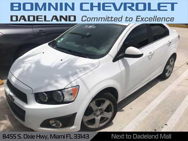 Chevrolet Sonic 2015 $5490.00 incacar.com