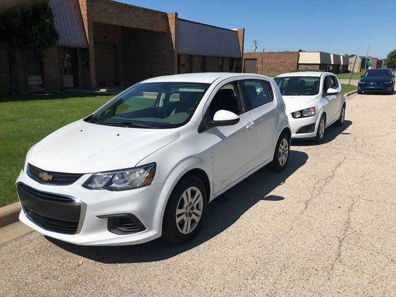 Chevrolet Sonic 2017 $7990.00 incacar.com