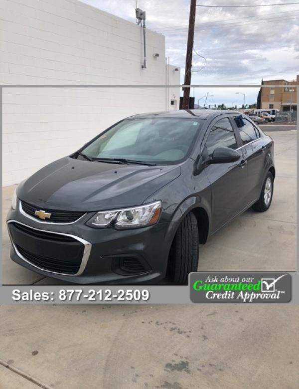 Chevrolet Sonic 2018 $11500.00 incacar.com