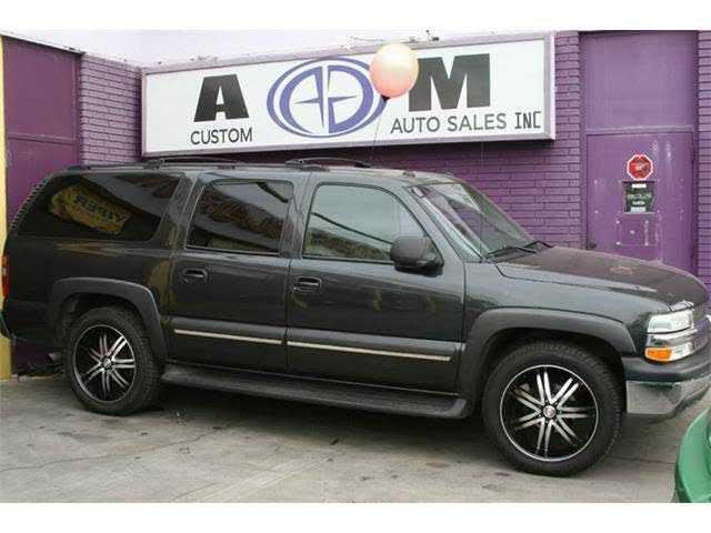 Chevrolet Suburban 2003 $3995.00 incacar.com