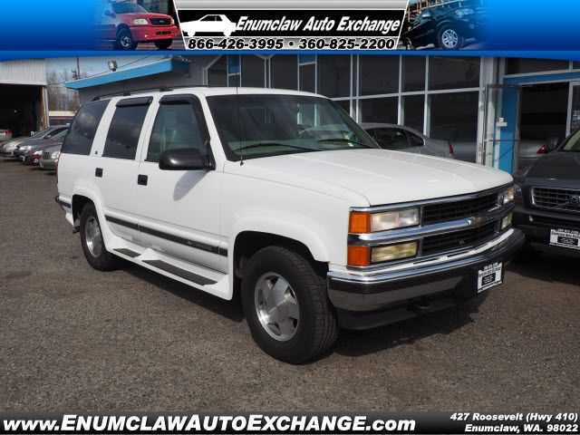 Chevrolet Tahoe 1999 $3999.00 incacar.com