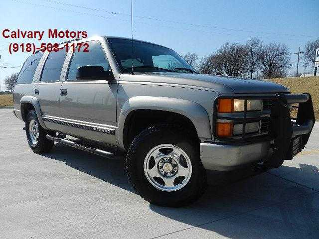 Chevrolet Tahoe 2000 $5995.00 incacar.com
