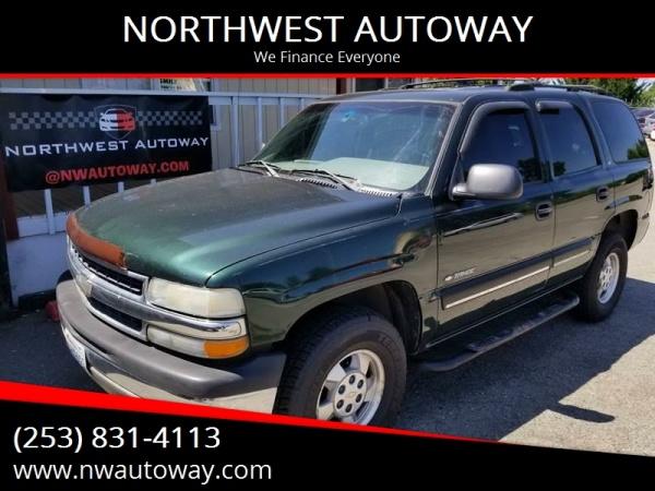 Chevrolet Tahoe 2001 $3998.00 incacar.com