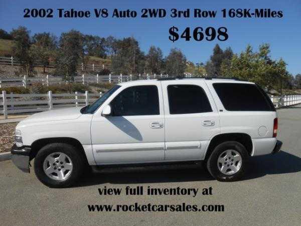 Chevrolet Tahoe 2002 $3998.00 incacar.com