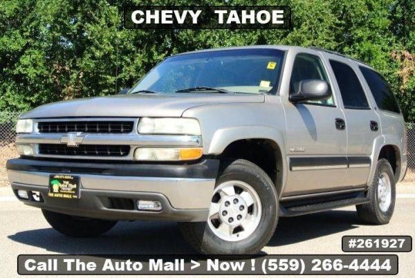 Chevrolet Tahoe 2002 $4995.00 incacar.com