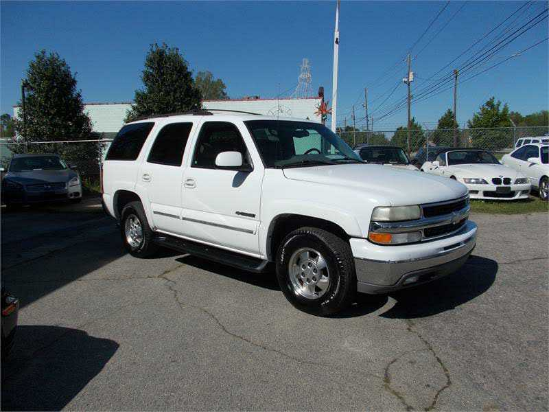 Chevrolet Tahoe 2002 $2999.00 incacar.com