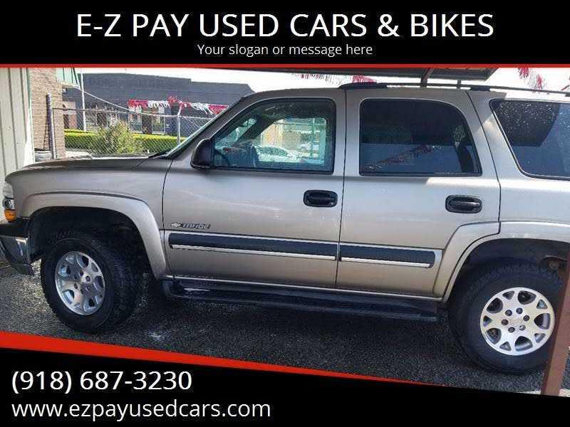 Chevrolet Tahoe 2003 $5295.00 incacar.com