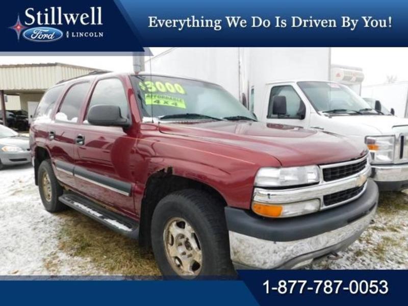 Chevrolet Tahoe 2003 $30000.00 incacar.com