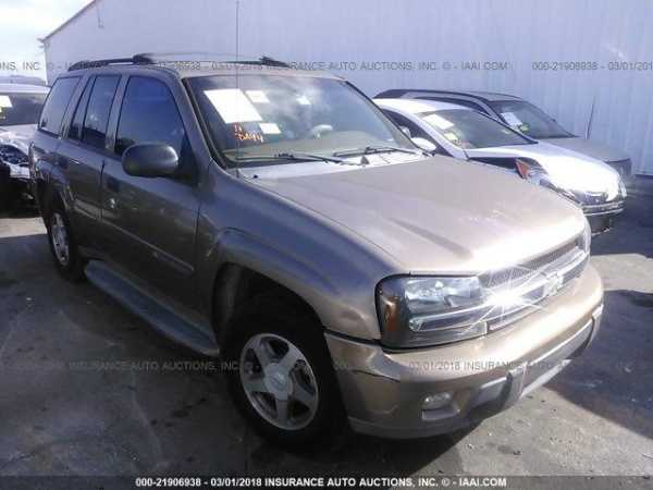 Chevrolet Trailblazer 2003 $3499.00 incacar.com