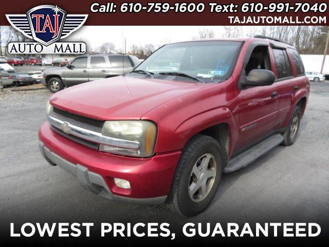Chevrolet Trailblazer 2003 $3998.00 incacar.com