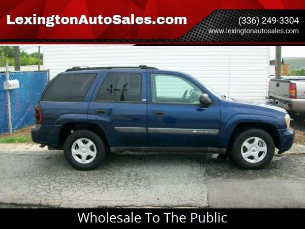 Chevrolet Trailblazer 2003 $3000.00 incacar.com