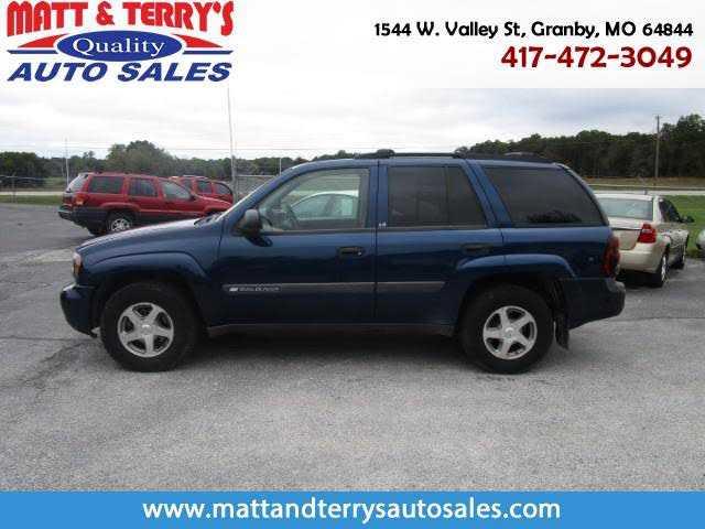 Chevrolet Trailblazer 2004 $3500.00 incacar.com