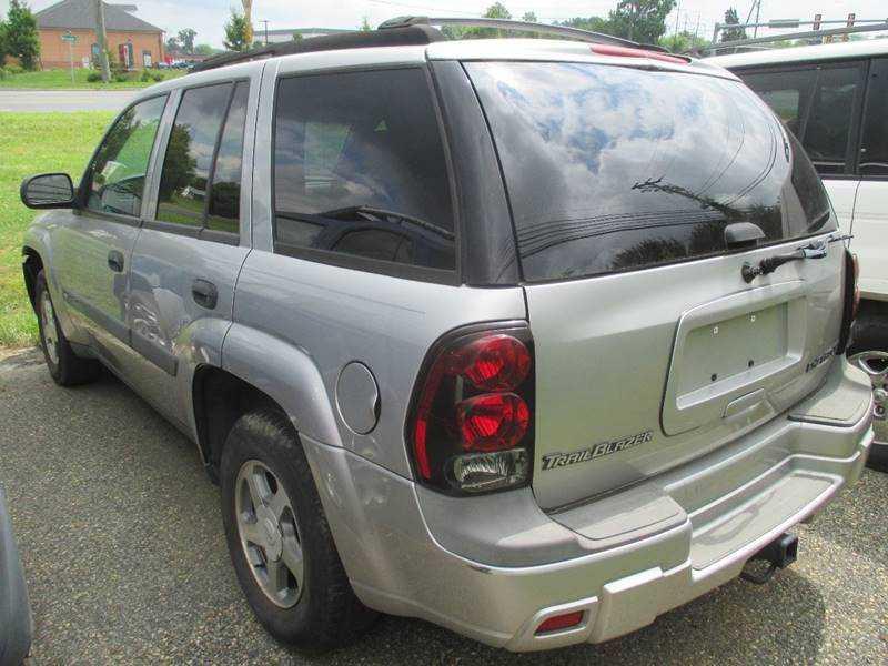 Chevrolet Trailblazer 2004 $4495.00 incacar.com