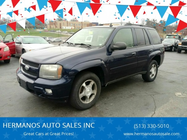 Chevrolet Trailblazer 2008 $3000.00 incacar.com