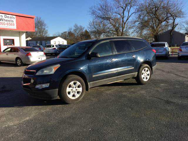 Chevrolet Traverse 2009 $6999.00 incacar.com