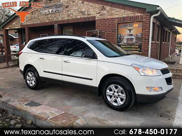 Chevrolet Traverse 2012 $7995.00 incacar.com