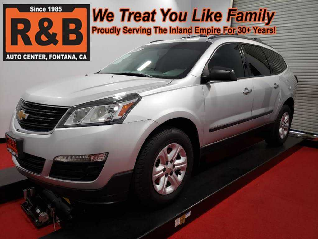 Chevrolet Traverse 2015 $16977.00 incacar.com