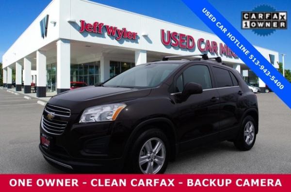 Chevrolet Trax 2015 $16143.00 incacar.com