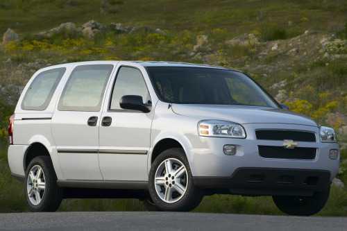 Chevrolet Uplander 2007 $6995.00 incacar.com
