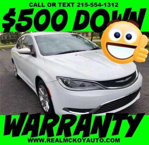 Chrysler 200 2015 $13999.00 incacar.com