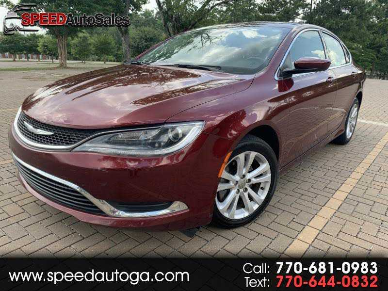 Chrysler 200 2015 $5600.00 incacar.com