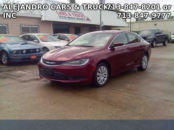 Chrysler 200 2015 $16950.00 incacar.com