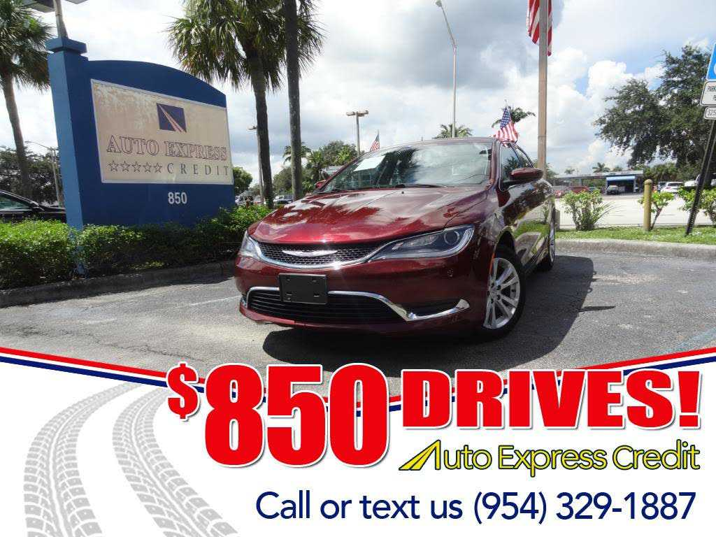 2015 Chrysler 200 687500 For Sale In Plantation FL 33317