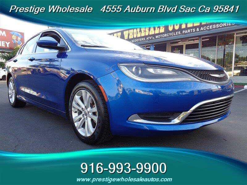 Chrysler 200 2015 $7988.00 incacar.com