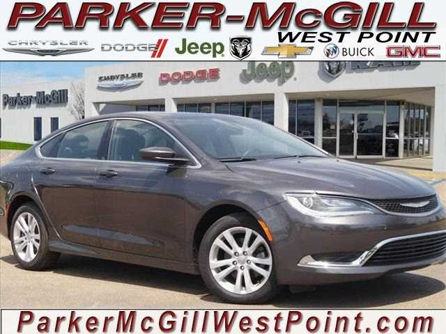Chrysler 200 2016 $22822.00 incacar.com