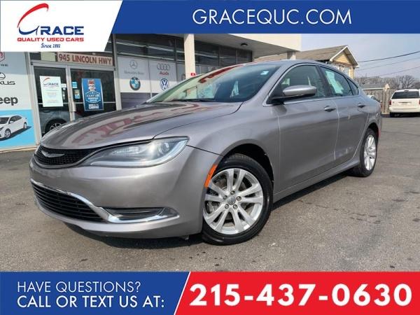 Chrysler 200 2017 $11495.00 incacar.com