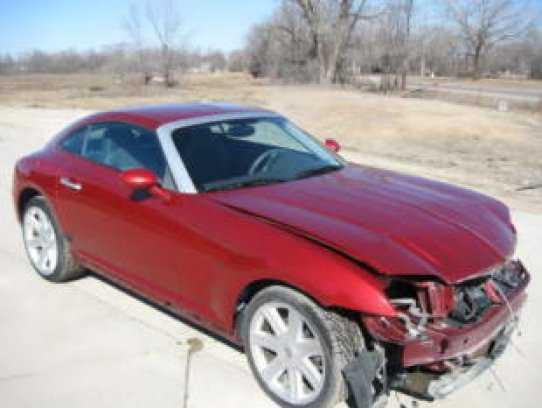 Chrysler Crossfire 2004 $3950.00 incacar.com