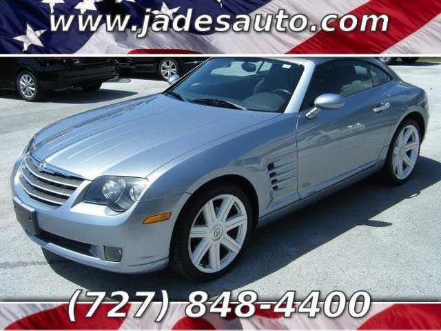 Chrysler Crossfire 2004 $5995.00 incacar.com