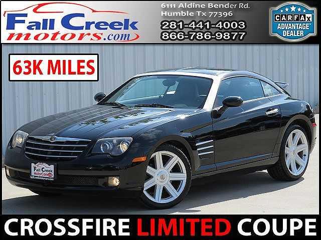 Chrysler Crossfire 2004 $7980.00 incacar.com
