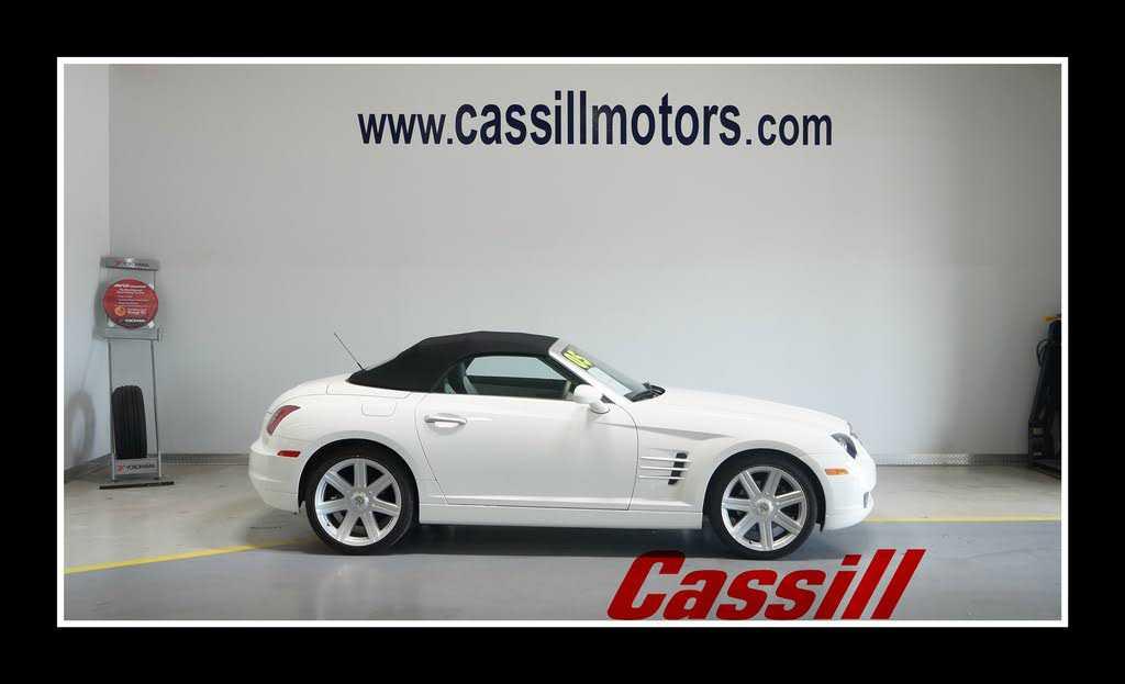 Chrysler Crossfire 2005 $19900.00 incacar.com
