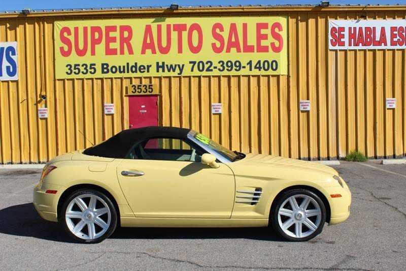 Chrysler Crossfire 2006 $6500.00 incacar.com