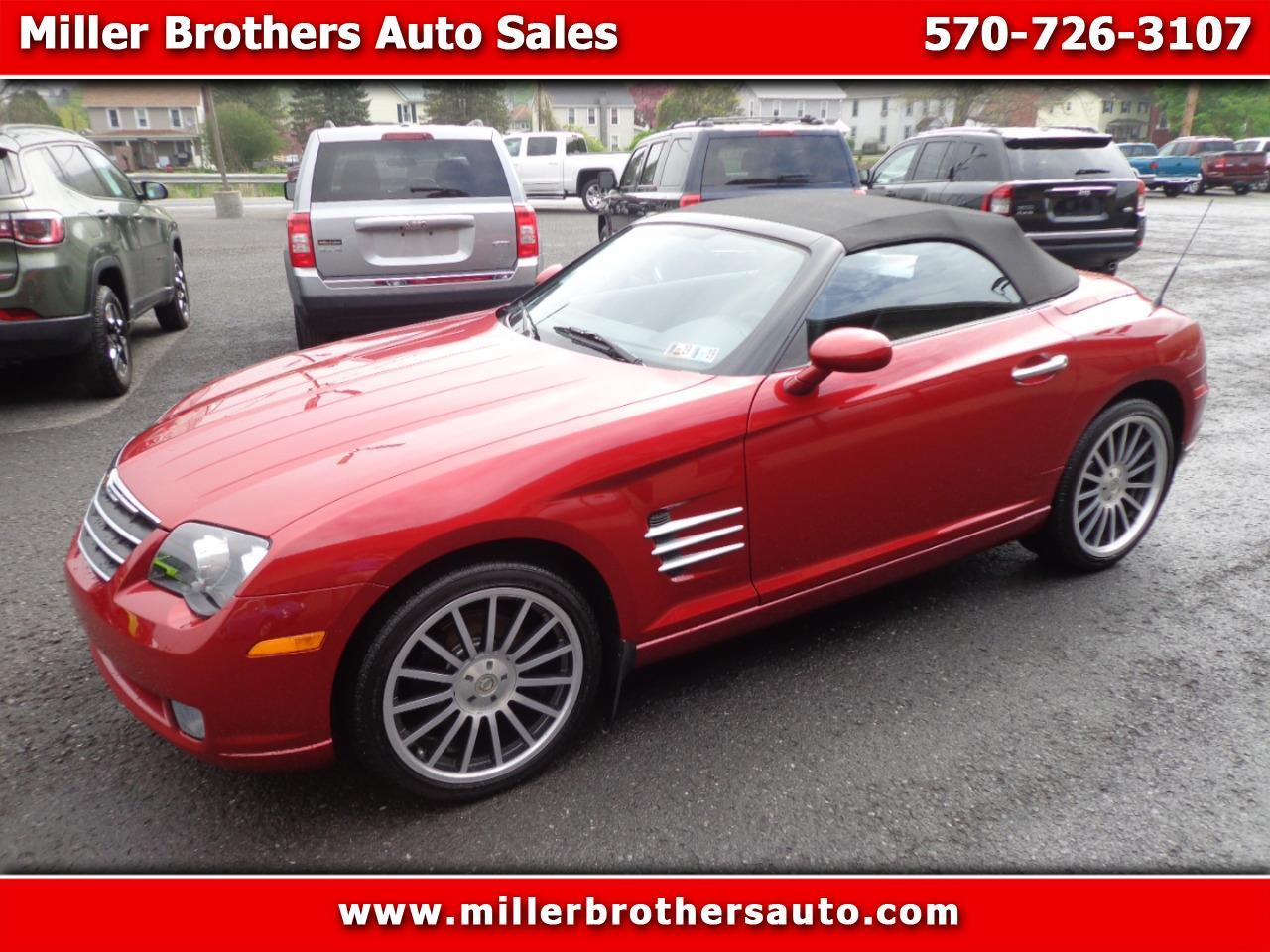 Chrysler Crossfire 2007 $19995.00 incacar.com