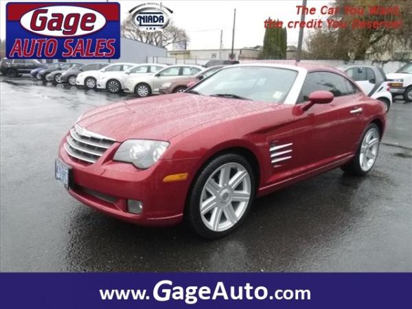 Chrysler Crossfire 2008 $8888.00 incacar.com