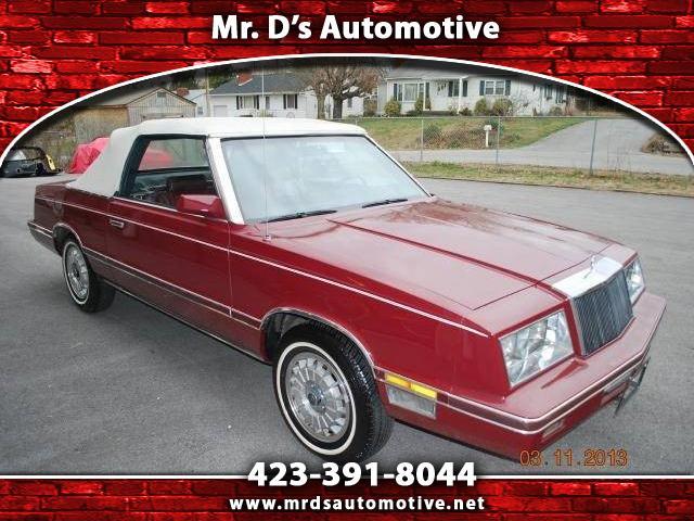 Chrysler LeBaron 1982 $5995.00 incacar.com