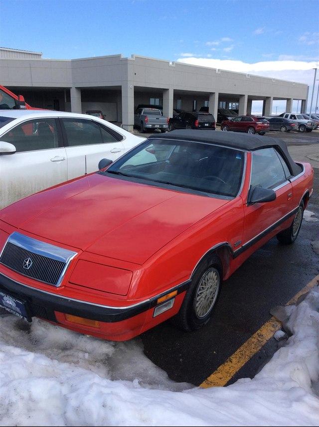 Chrysler LeBaron 1989 $3991.00 incacar.com