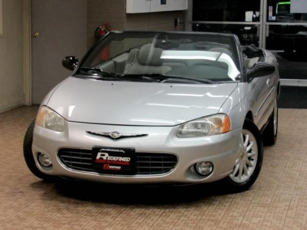 Chrysler Sebring 2001 $3795.00 incacar.com
