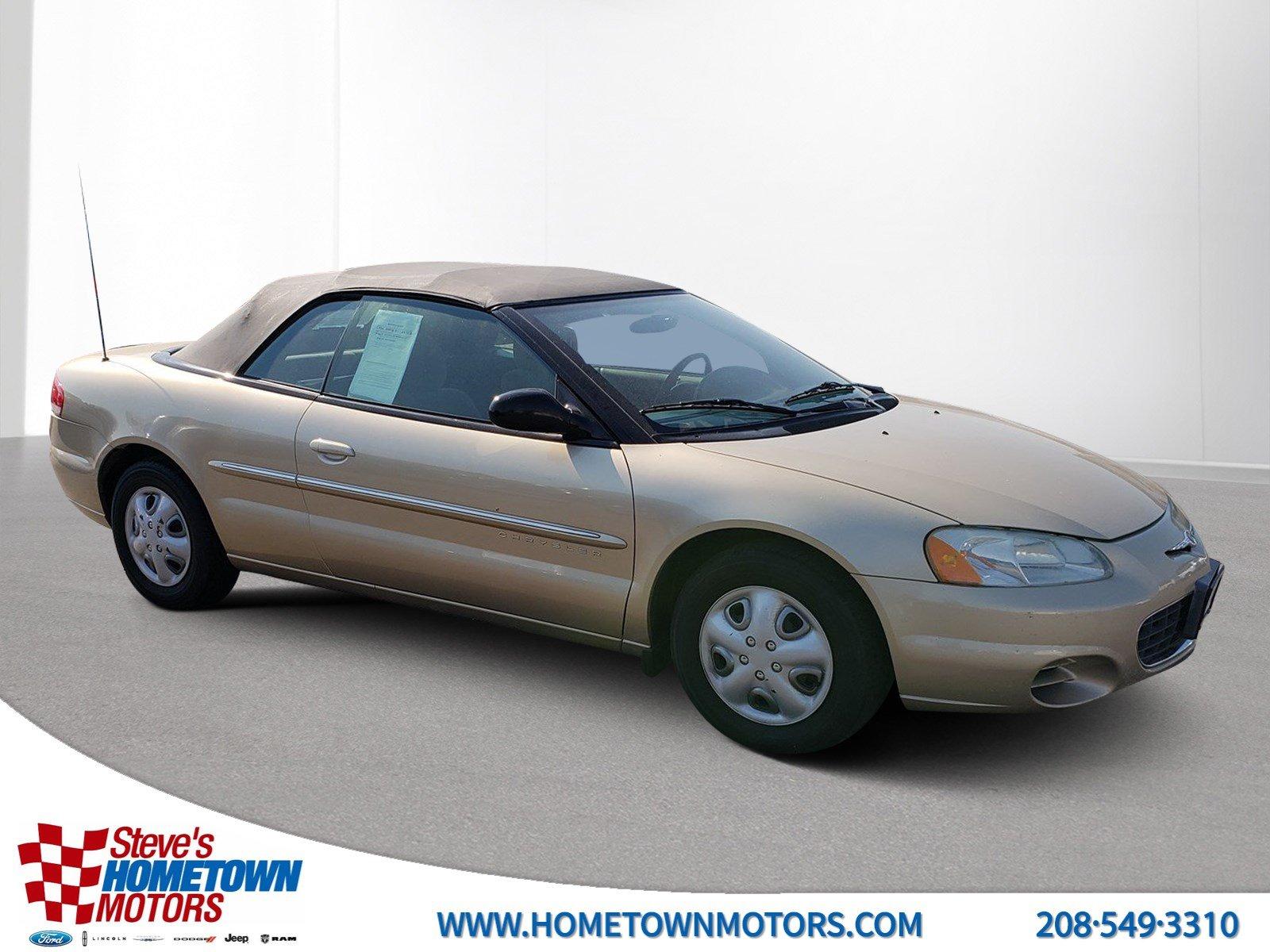 Chrysler Sebring 2001 $4999.00 incacar.com