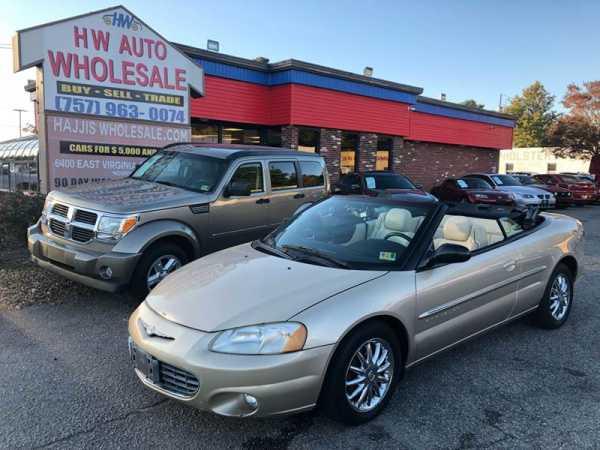 Chrysler Sebring 2001 $2993.00 incacar.com