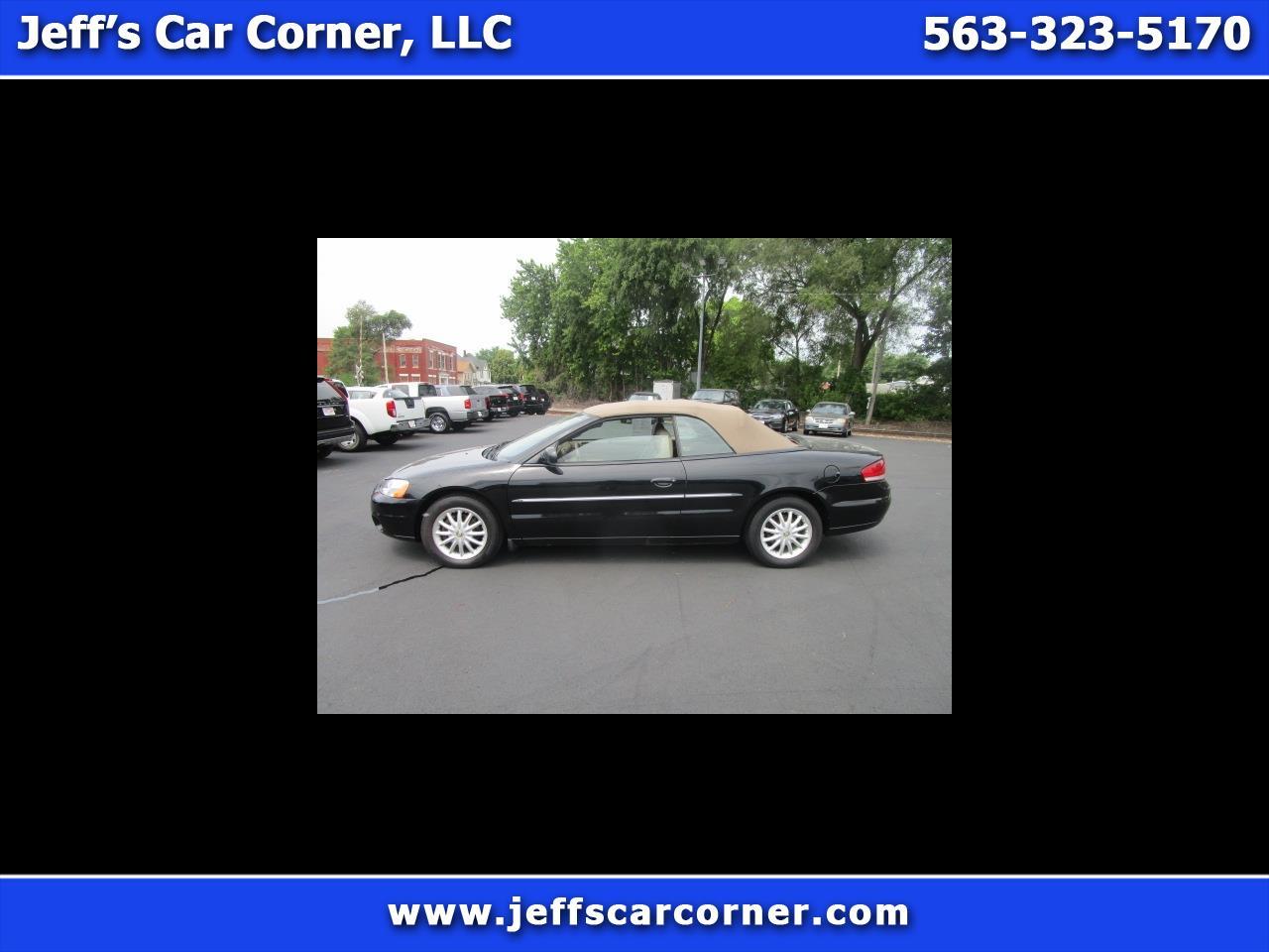 Chrysler Sebring 2002 $6500.00 incacar.com